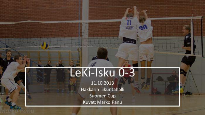2013 loka11 LeKi-Isku