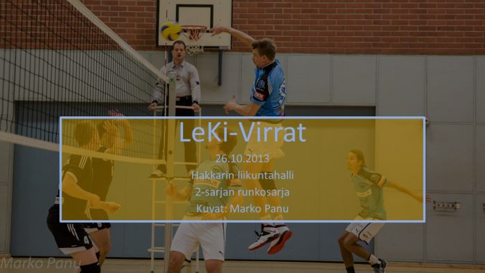 2013 loka26 LeKi-Virrat