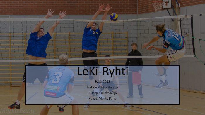 2013 marras9 LeKi-Ryhti