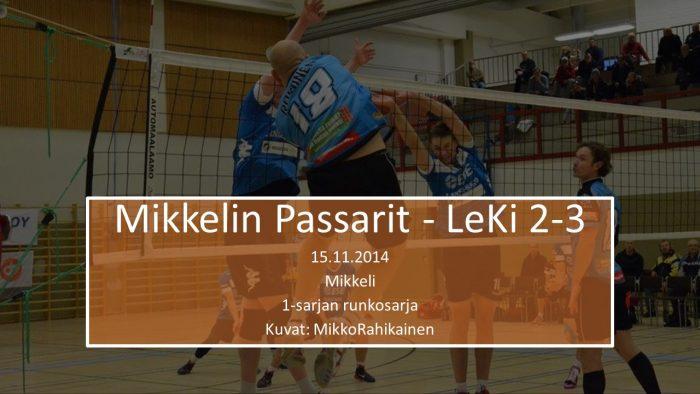 2014 marras15 LeKi-Passarit