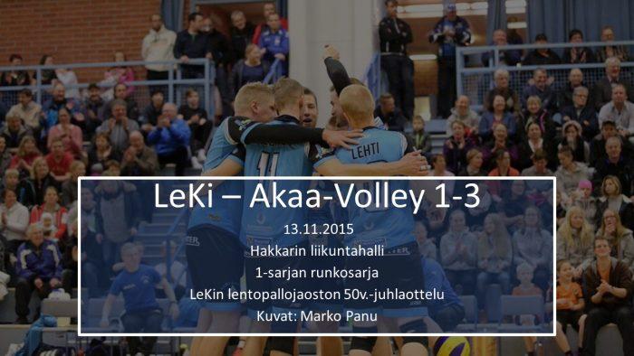 2015 marras13 LeKi-Akaa