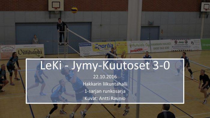 2016 loka22 LeKi-Jymy-Kuutoset