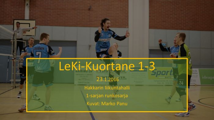 2016 tammi23 LeKi-Kuortane