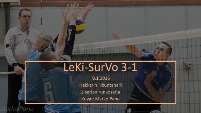 2016 tammi9 LeKi-SurVo