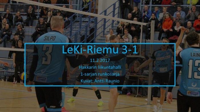 2017 helmi11 LeKi-Riemu