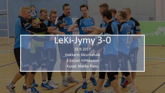 2017 syys16 LeKi-Jymy