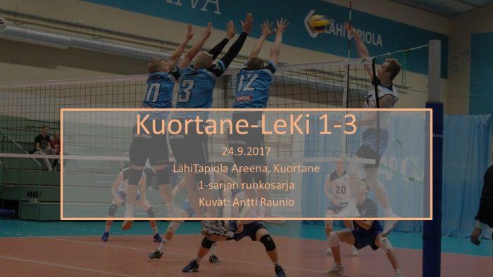 2017 syys24 Kuortane-LeKi