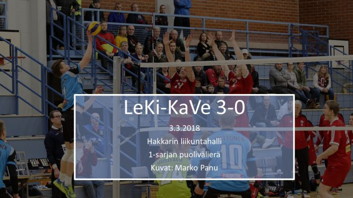 2018 maalis3 LeKi-KaVe