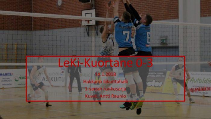 2018 tammi14 LeKi-Kuortane