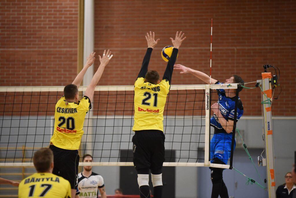 Ennakko: 2. välierä Kyky – Lempo-Volley 11.4.