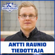 Antti RAUNIO pelaajakortti 2021-22