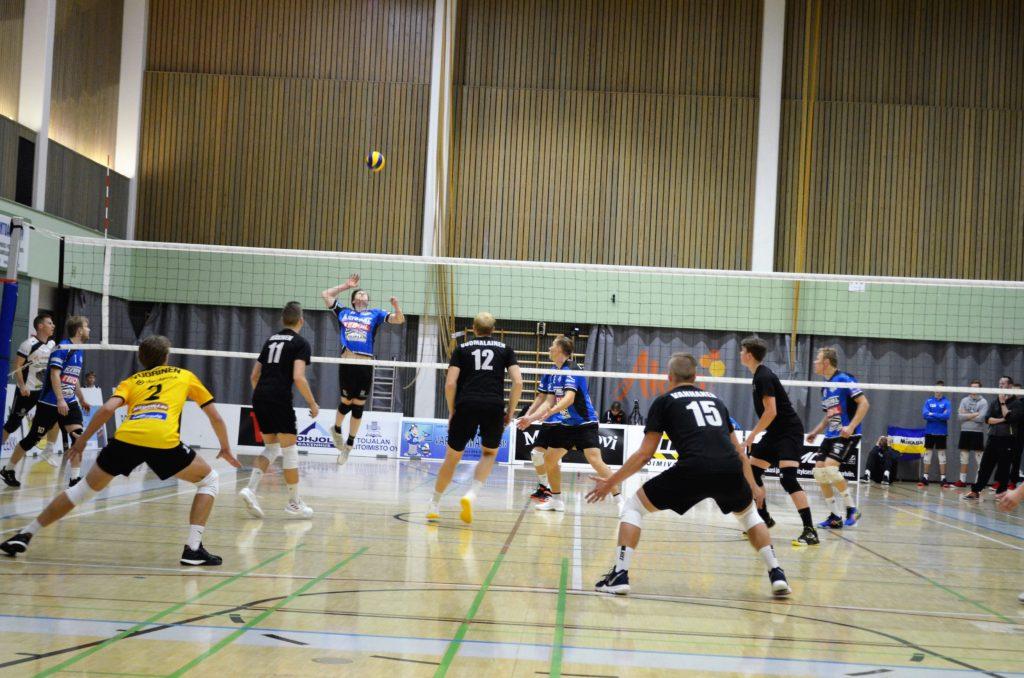 Ennakko: harjoitusottelu Hurrikaani–Lempo-Volley 11.9.