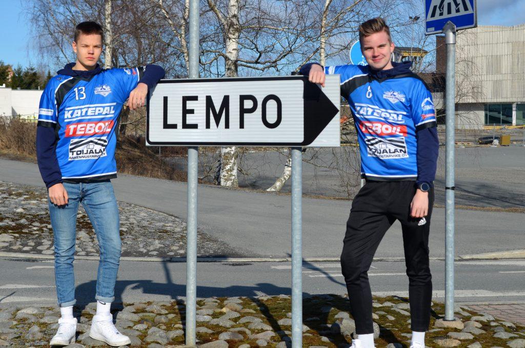 Saku Tuomivaara ja Tommi Nieminen jatkosopimuksiin Lempon kanssa