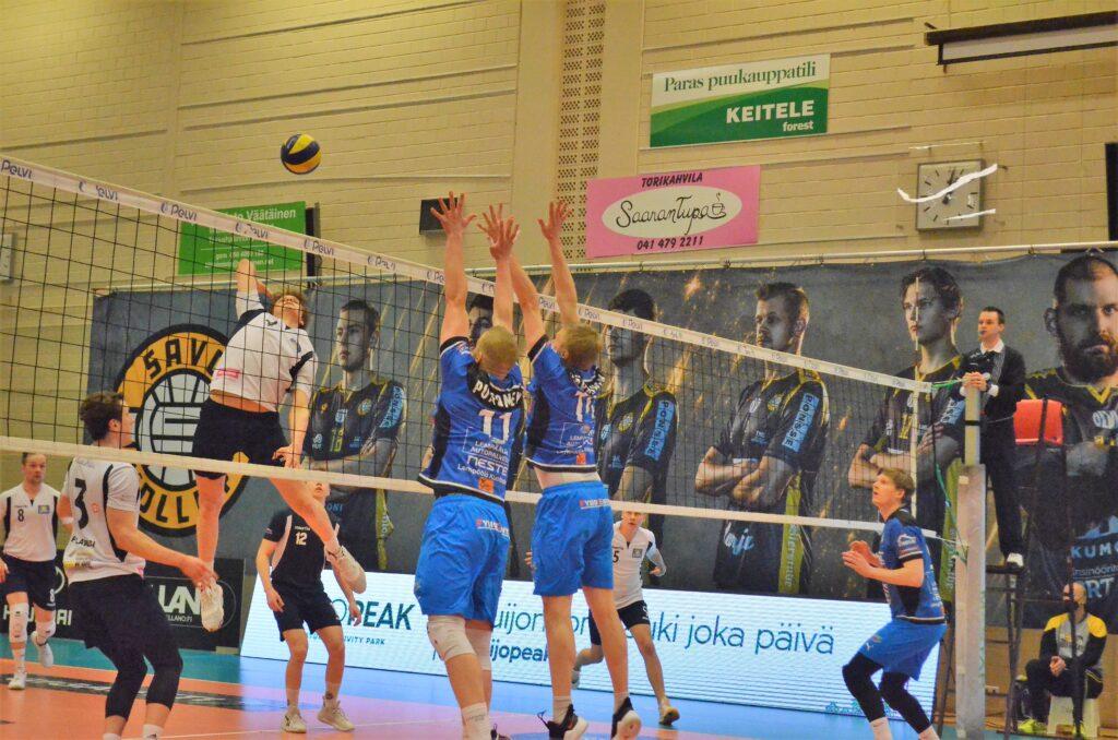 Ennakko: 1. Puolivälierä Sampo – Lempo-Volley 3.4.