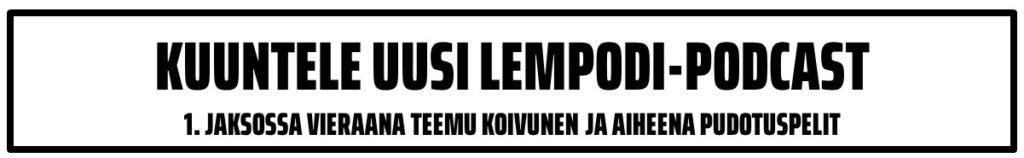KUUNTELE UUSI LEMPODI-PODCAST