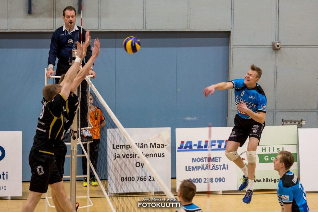 Ennakko: Isku–Lempo-Volley harjoituspeli 22.8.