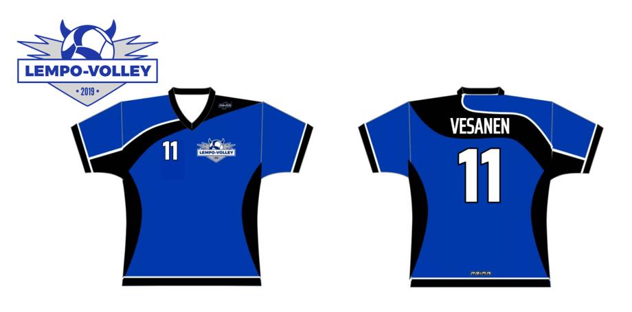 Lempo-Volley pelipaita 2019-2020