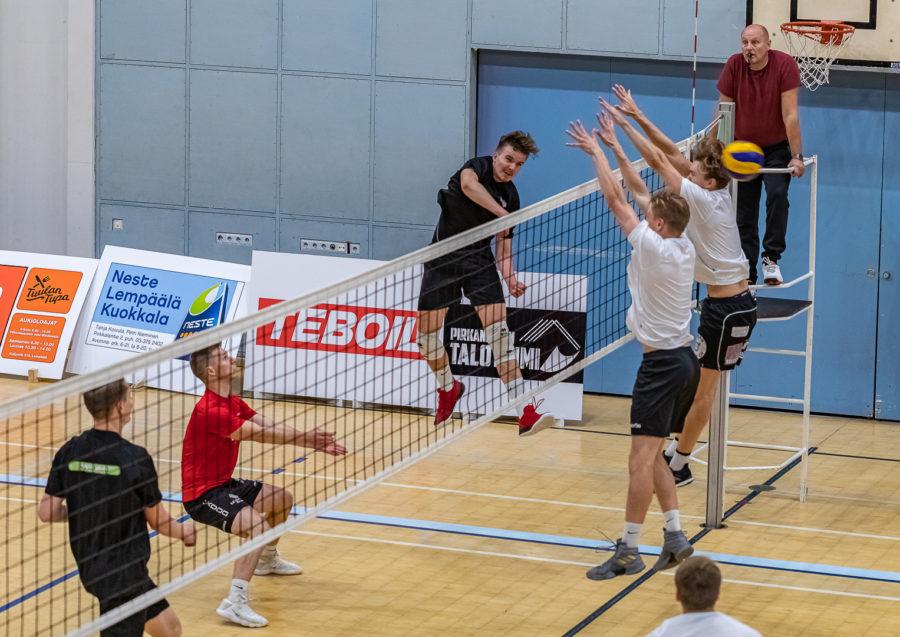 Lempo-Volley vst. Akaa-Volley harkkapeli -5196