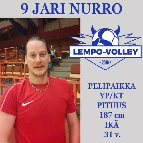 Jari Nurro vahvistaa 2-sarjajoukkuetta