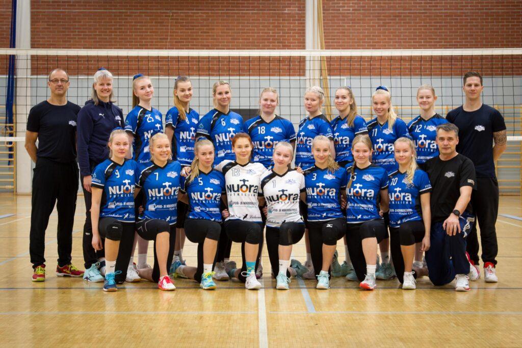 Oulun Kisko nousi miesten 1-sarjaan – Lempo-Volleyn naisjoukkue nousi naisten 1-sarjaan