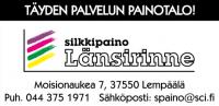 silkkipaino länsirinne logo